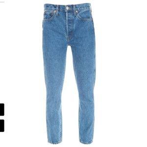 RE/DONE Originals Double Needle Crop Jean